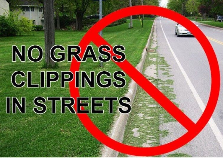 No Grass Clippings in Streets